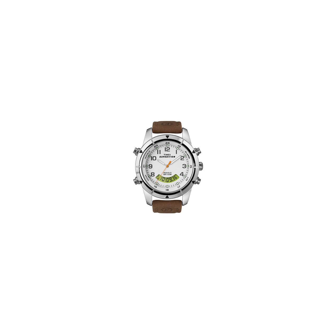 Timex Expedition Metal Combo Leather Strap – T49828