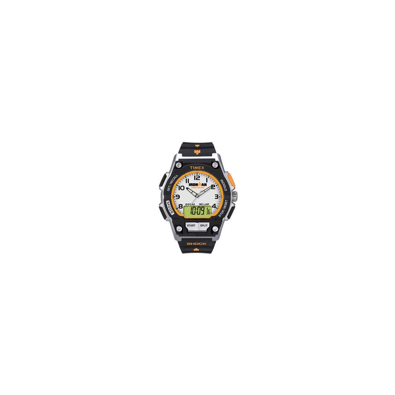 Timex Ironman 30-Lap Shock Resistant Combo